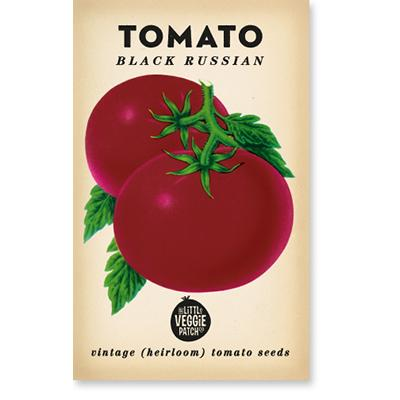 TOMATO 'BLACK RUSSIAN' HEIRLOOM SEEDS